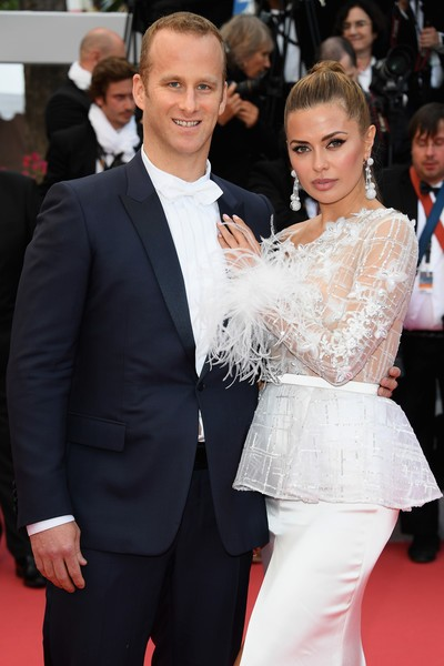 Russian celebrity Victoria Bonya and Alexander Smurfit
