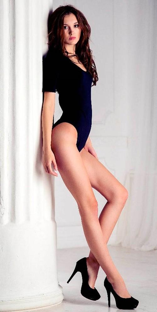 Russia Longest Legs Anastasia Strashevskaya