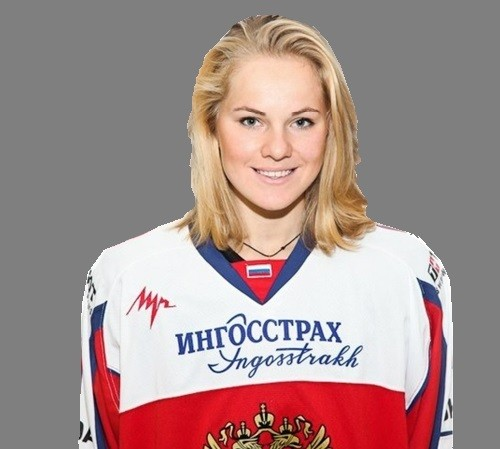 Angelina Goncharenko, Russia women's national ice hockey