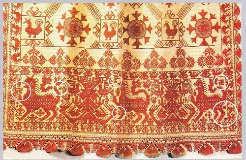 Detail of Apron, Russian north