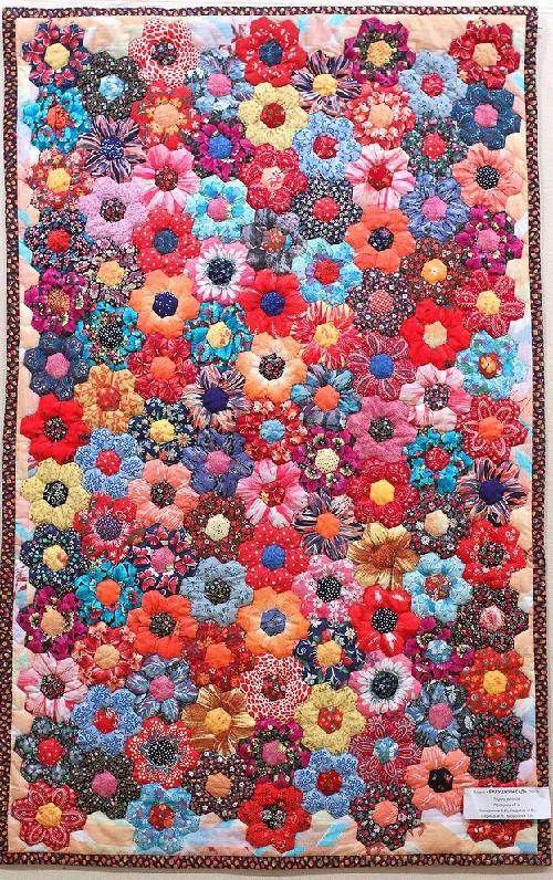 Granny's garden, patchwork