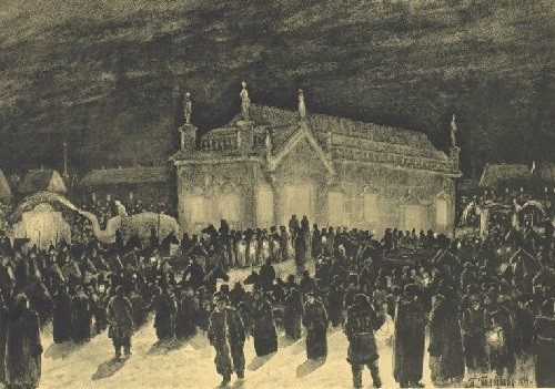 Ice House, Album of illustrations for the novel of Lazhechnikov