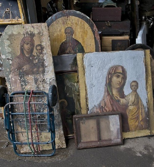 Moscow flea markets