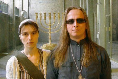 Ivan Okhlobystin and Oksana Okhlobystina, 2009
