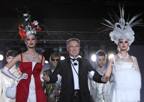 Fashion by Russian couturier Vyacheslav Zaitsev