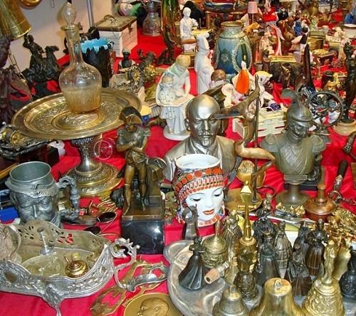 Moscow flea market