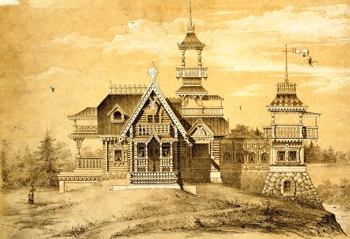 Motives of Russian architecture (1874-79)