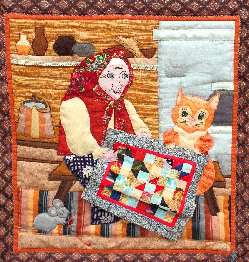 Patchwork 'Needlewoman'
