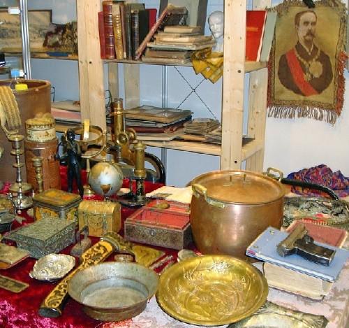 Moscow flea markets