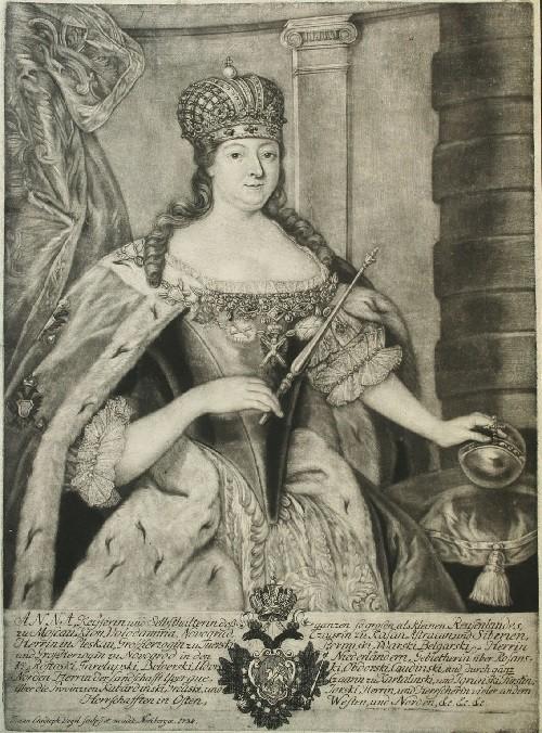 Russian Empress Anna Ioanovna