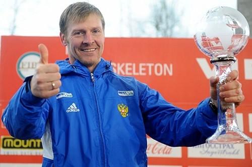 Russian Olympians bobsledder Alexander Zubkov