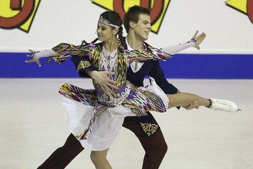 Elena Ilinykh and Nikita Katsalapov