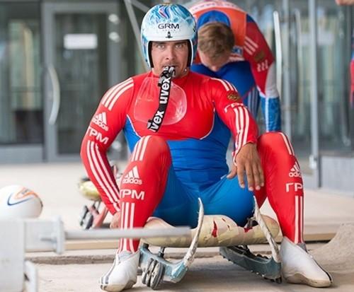 Russian Olympians luger Albert Demchenko