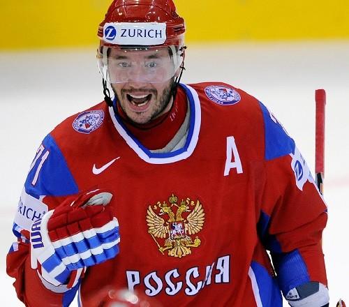Russian Olympians Ilya Kovalchuk