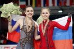 Russia's gold - Sotnikova and Lipnitskaia