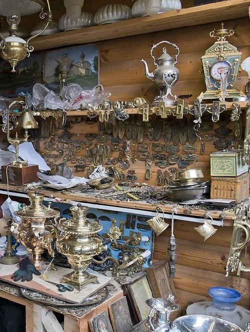 Samovars. Moscow flea markets
