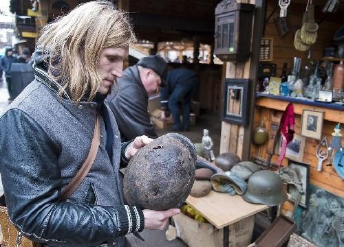 Second World War artifacts. Moscow flea markets
