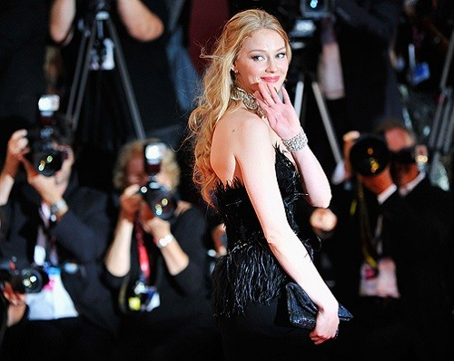 "Actress Svetlana Khodchenkova attends the ""Tinker, Tailor, Soldier, Spy"" premiere at the Palazzo del Cinema during the 68th Venice Film Festival on September 5, 2011 in Venice, Italy.  (Photo by Gareth Cattermole/Getty Images)"