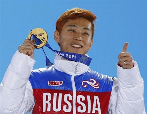 Viktor Ahn (November 23, 1985 in Seoul) or Ahn Hyun-Soo, short track speed skating athlete. Ahn has received Russian citizenship to compete for Russia in the 2014 Olympics
