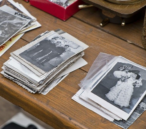 Vintage photographs, Moscow flea markets