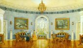 Mstislav Dobuzhinsky. The Blue Drawing Room