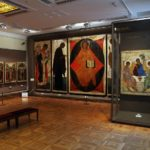 Symbol of Russian art Tretyakov Gallery