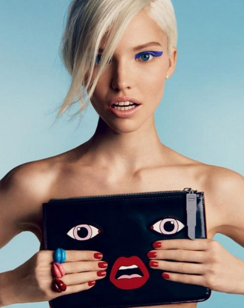 Sasha Luss. Vogue Russia January 2014