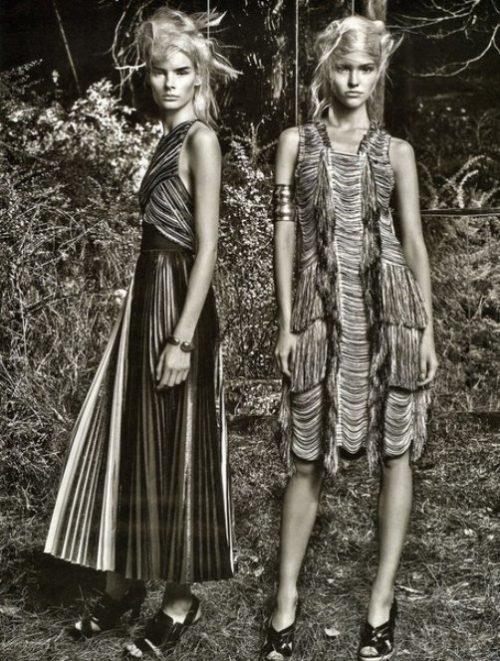 Sasha Luss. W Magazine February 2014, photography Craig McDean