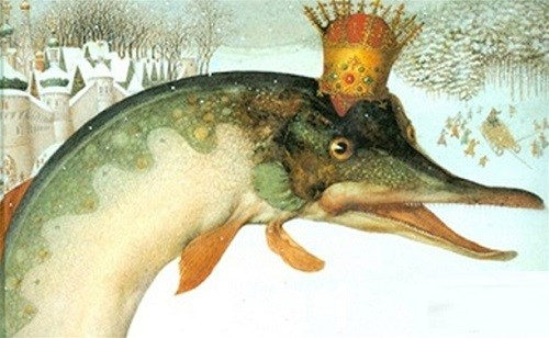 Russian folk tale Wish upon a Pike