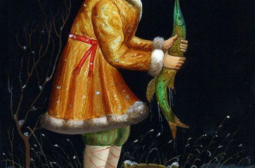 Russian folk tale Wish upon a Pike
