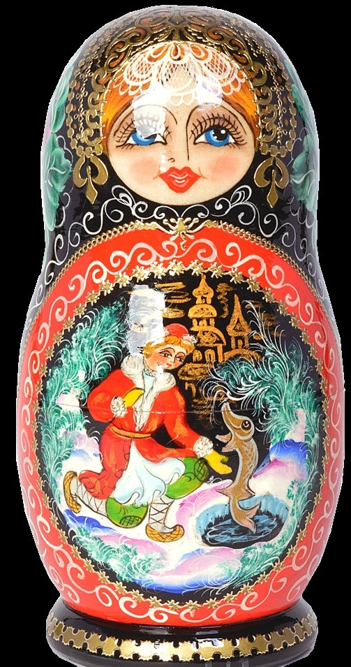 Wish upon a Pike matryoshka