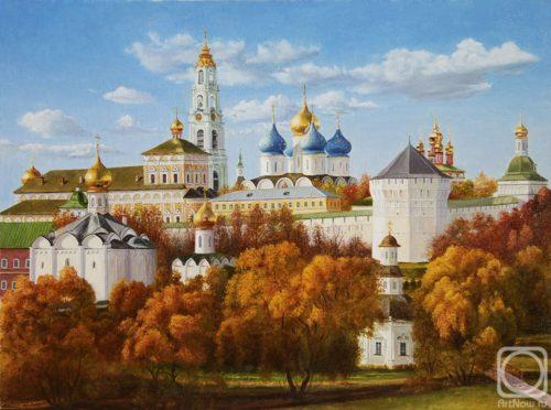 Fall. Trinity-Sergius Lavra