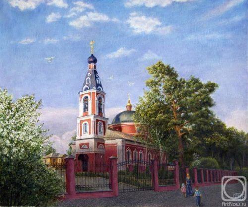Church of the Archangel Michael in Belousovo