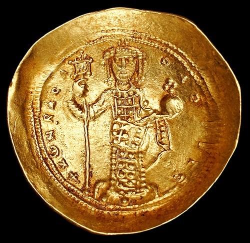 Byzantine Empire. Constantine X Doukas (1059-1067). Constantinople. Issue 1059-1067. Au, weight 4.18 g EF 2