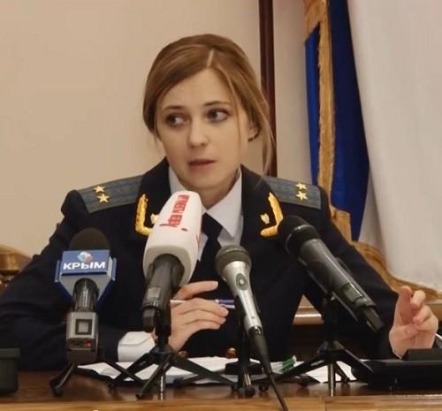 Prosecutor of Crimea Natalia Poklonskaya