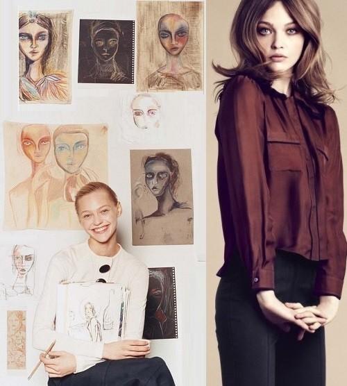 artist Sasha Pivovarova