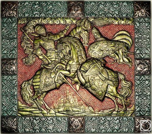 Eternal Russia Metal art by Victor Morozov
