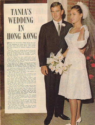 A little later, Tanya married a businessman from Perth - Peter Young and they had a daughter, Nina.