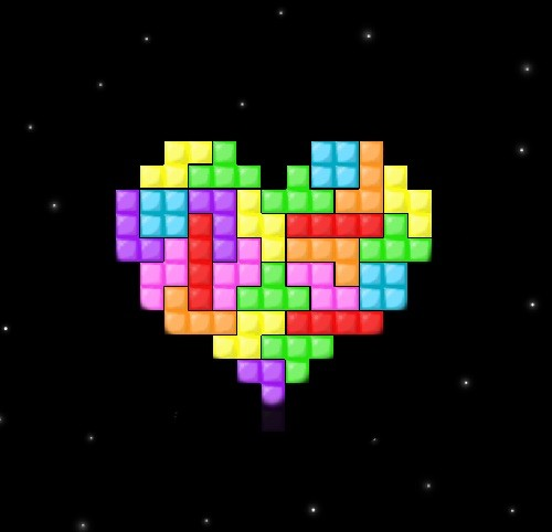 Tetris - from Russia with love