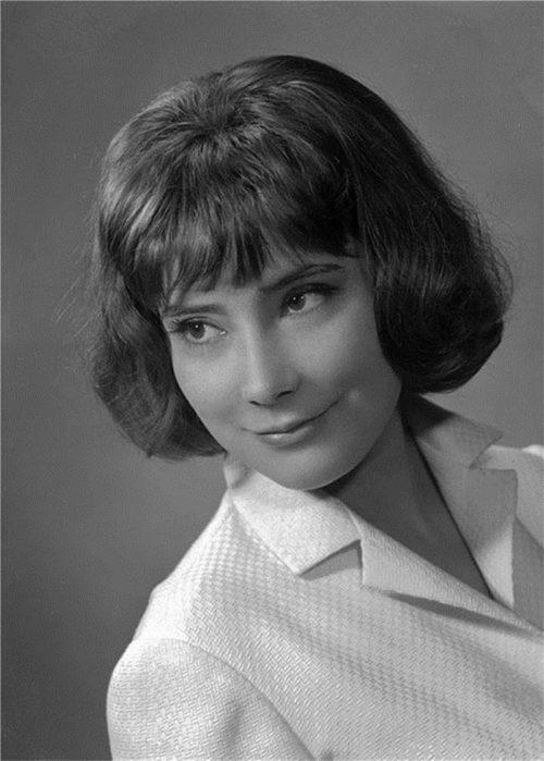 Russian actress Tatiana Samoilova