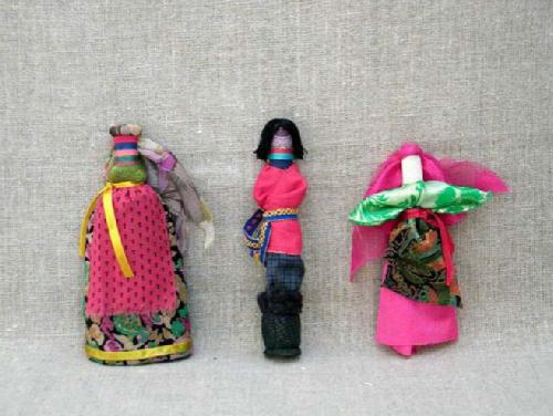 Komi dolls. Russian Patchwork dolls by Marina Mishina
