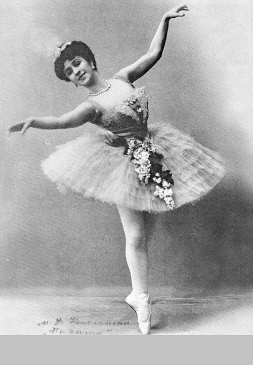 Mathilda-Marie Kschessinskaya (31 August 1872 – 6 December 1971), Russian ballerina