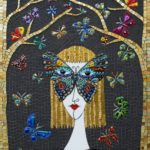 Russian artist mosaicist Irina Charny