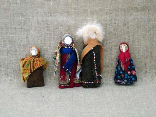 Muncie Dolls. Russian Patchwork dolls by Marina Mishina