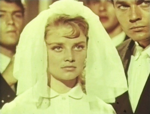 Russian actress Natalya Kustinskaya in 1961 'Maiden Years' (Nastya)