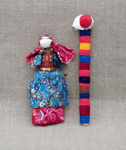 Tatar doll. Russian Patchwork dolls by Marina Mishina