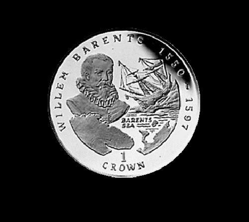Willem Barentsz (1550 — 1597) coin