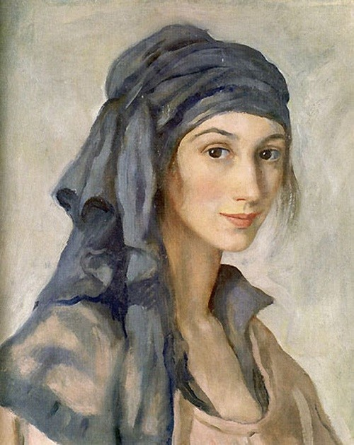 Zinaida Serebriakova (12 December 1884 – 19 September 1967) Russian painter, self-portrait