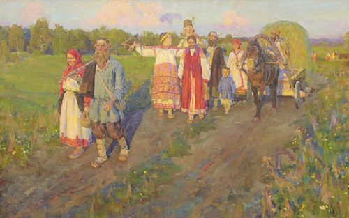 Russian painter Stanislav Babiuk