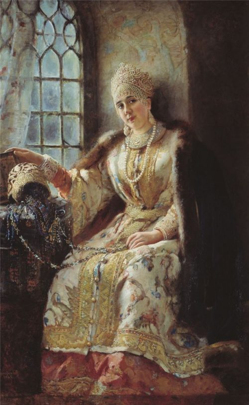Noblewoman at the window